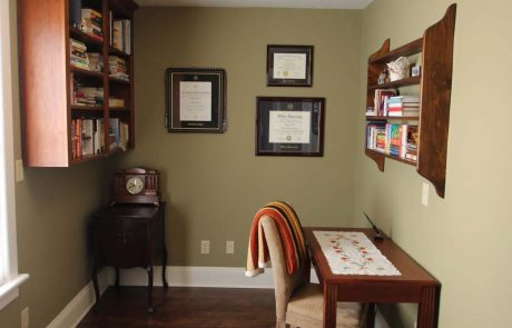 small library room